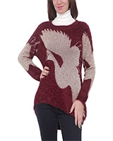 Pullover 4551 Dark Red One Size - M.Sou