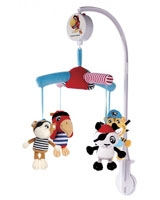 Musical Mobile Pirates For Baby Bed - Canpol Babies