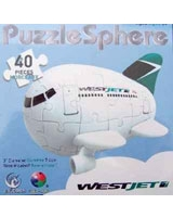 Egg - West Jet Aircraft puzzle - Puzzle