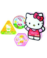 Hello Kitty 3 evolutive wooden puzzles - Vilac
