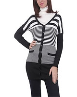 Cardigan 4834 Black/White One Size - M.Sou