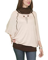 Short Sleeve Shirt 501 Beige One Size - M.Sou
