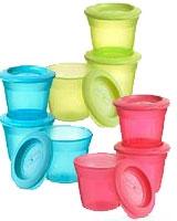 TT Essential 3x Food Pots - Tommee Tippee