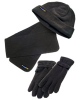 Winter Set 3 Pieces Dark Gray - Travel Blue