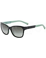 Ladies' Sunglasses 4004 Black/Opal Aqua Green 50458E - Emporio Armani