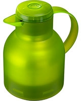 Samba Vacuum Jug 1 Liter Translucent Light Green - Emsa