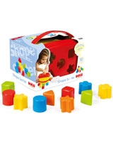 Shape Sorter Bucket - Dolu