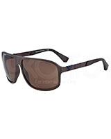 Men's Sunglasses 4029 Brown Rubber 521073 - Emporio Armani