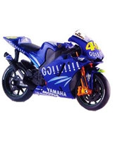 Assembly Line Yamaha GP 2004valentino Rossi - Maisto Die-Cast