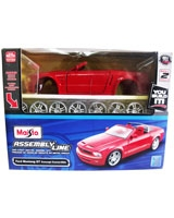 Assembly Line Ford Mustang Gt Concept Convertible - Maisto Die-Cast