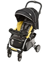 Featherlite 400 Travel System tangerine - Evenflo