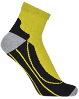 Sport Half Terry Half Socket Socks 5587 Yellow - Solo