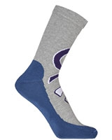 Sport Half Terry Long Socks 5606 Grey - Solo