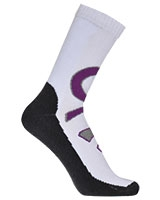 Sport Half Terry Long Socks 5606 White - Solo