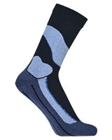 Sport Half Terry Long Socks 5607 Dark Blue - Solo