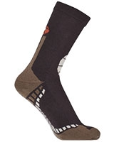 Sport Half Terry Long Socks 5609 Brown - Solo