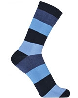 Sport Half Terry Long Socks 5610 Dark Blue - Solo