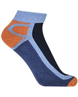 Sport Half Terry Socket Socks 5614 Dark Blue - Solo