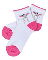 Girls Half Socket Socks 5696 - Solo
