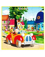 OuiOui Noddy 49 Pieces Wooden Puzzle - Vilac