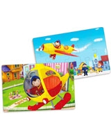 Noddy 2 X 15 Pieces Wooden Puzzle in A Suitcase - Vilac