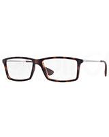 Mens Optical Glasses 7021 Rubber Havana 5365 - Ray Ban