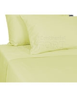Plain Bed Set Cream - Comfort