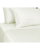Plain Bed Set White - Comfort