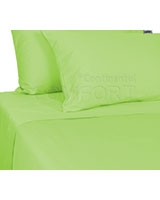 Plain Bed Set Green - Comfort