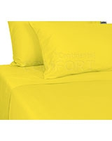 Plain Bed Set Yellow - Comfort