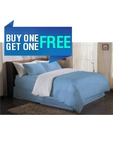 Plain Duvet Cover Fashion Dusk Blue - Comfort