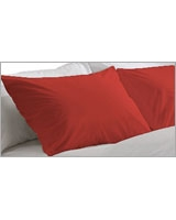 Plain Pillowcase Fashion Poppy Red - Comfort