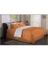 Plain Duvet Cover Fashion Nectarine - Comfort