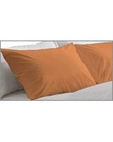 Plain Pillowcase Fashion Nectarine - Comfort