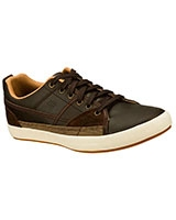 Relaxed Fit : Planfix - Romelo Brown 62885-BRN - Skechers
