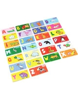 ABC Animals Frensh & English Puzzle - Vilac