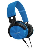 Headband Headphones SHL3000BL/00 DJ monitor style Blue - Philips