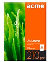 Photo Paper Value A4 210 g/m2 50pack Glossy - ACME