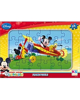 Mickey Mouse Puzzle Frame Assorted 24 Pieces - KS Games