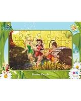 Fairies Puzzle Frame Assorted 24 Pieces - KS Games