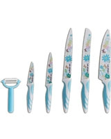 Set of 6 Pieces Knife lily of the Nile 6223004502699 - La Vita