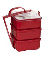 Picnic Container set three steps 18 cm 8809347320282 - La Vita
