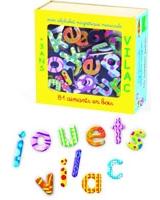 Alphabet Magnets Lowercase Letters - Vilac