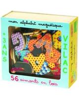 Alphabet Magnets 56 Pieces - Vilac