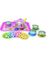 Barnyard Tin Tea Set - Vilac