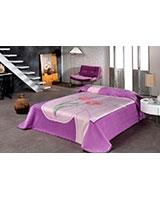 B Gold 831 blanket size 220x240 Lilac - Mora