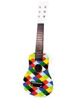 Harlequin Wooden Guitar - Vilac