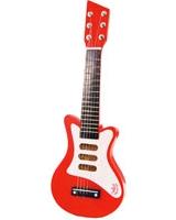 Red Rock'n Roll Wooden Guitar - Vilac