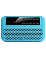 Portable speaker AEM120BLU Blue USB - Philips