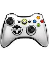 Wireless Controller Chrome Silver 43G-00020 - Xbox 360